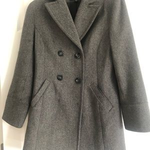 Express double breasted peacoat